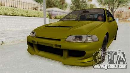 Honda Civic Fast and Furious for GTA San Andreas