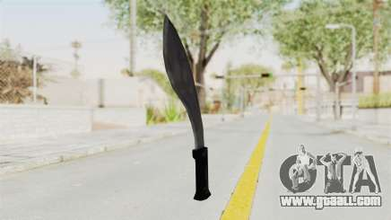 Liberty City Stories - Machete for GTA San Andreas