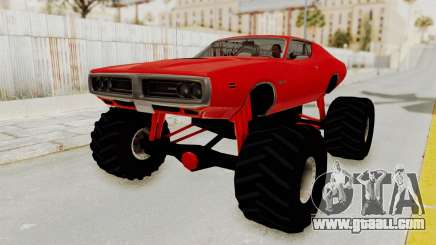 Dodge Charger 1971 Monster Truck for GTA San Andreas
