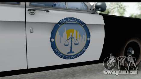 ГАЗ 24 Police Highway Patrol for GTA San Andreas back view