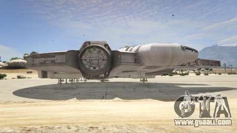 GTA 5 Star Wars Millenium Falcon 5.0 fifth screenshot