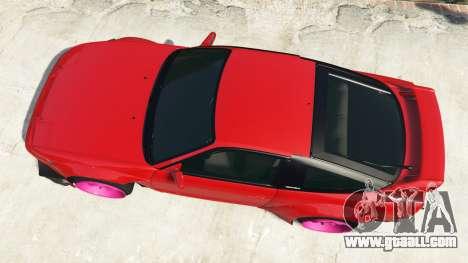 GTA 5 Nissan 180SX Type-X v1.0 back view