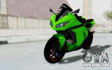 Kawasaki Ninja 250 Abs Streetrace for GTA San Andreas right view