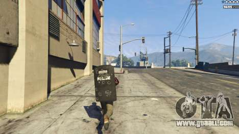 GTA 5 Shield Mod 0.2 fifth screenshot