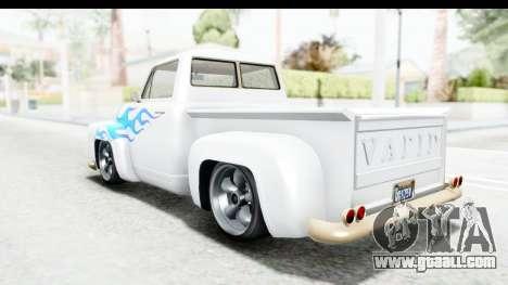 GTA 5 Vapid Slamvan Custom IVF for GTA San Andreas wheels
