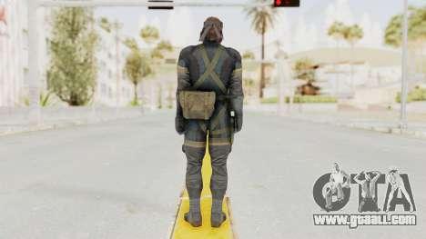 MGSV Phantom Pain Big Boss SV Sneaking Suit v1 for GTA San Andreas third screenshot