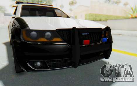 ASYM Desanne XT Pursuit v3 for GTA San Andreas side view