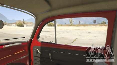 GTA 5 1963 Volkswagen Beetle 1.0.1 right side view