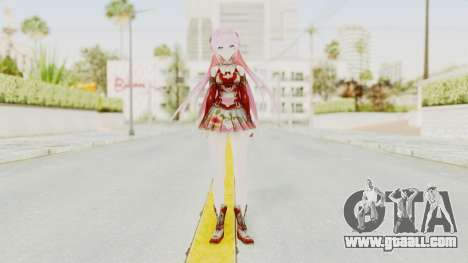 Sengoku Otome Luka for GTA San Andreas second screenshot
