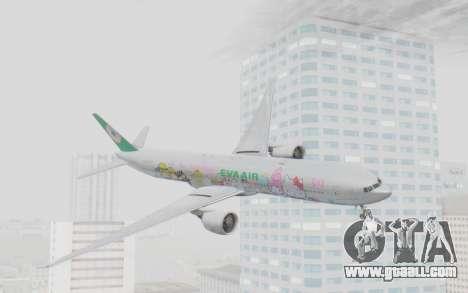 Boeing 777-300ER Eva Air v1 for GTA San Andreas
