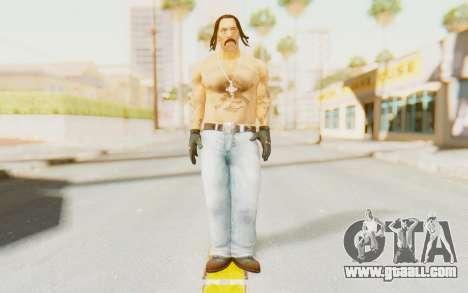 Def Jam Fight For New York - Danny Trejo for GTA San Andreas second screenshot