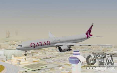 Boeing 777-300ER Qatar Airways v1 for GTA San Andreas