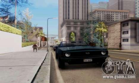 Chevrolet 369 Camaro SS for GTA San Andreas