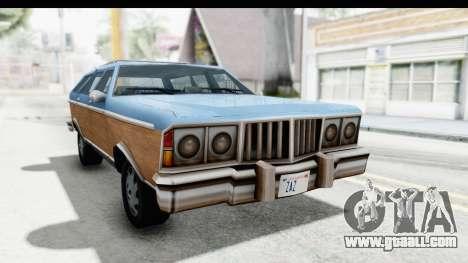 Pontiac Bonneville Safari from Bully for GTA San Andreas