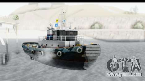 GTA 5 Buckingham Tug Boat v2 for GTA San Andreas right view