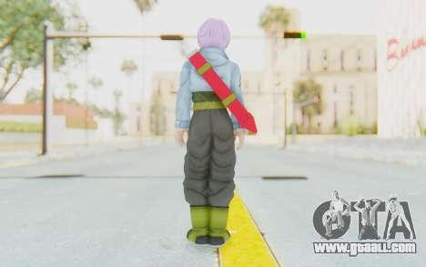 Trunks Del Futuro v1 for GTA San Andreas third screenshot