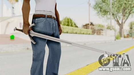 The Witcher 3: Wild Hunt - Sword v1 for GTA San Andreas