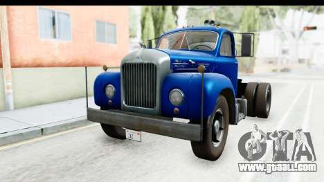 Mack B-61 1953 for GTA San Andreas back left view