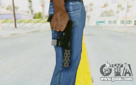 GTA 5 Vom Feuer Machine Pistol for GTA San Andreas third screenshot