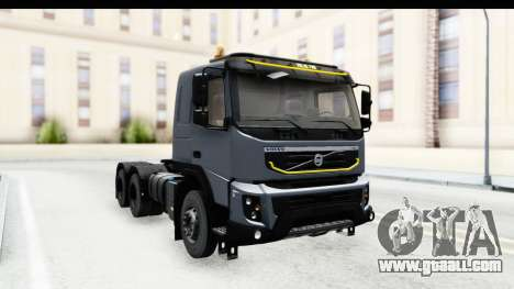 Volvo FMX Euro 5 v2.0.1 for GTA San Andreas back left view