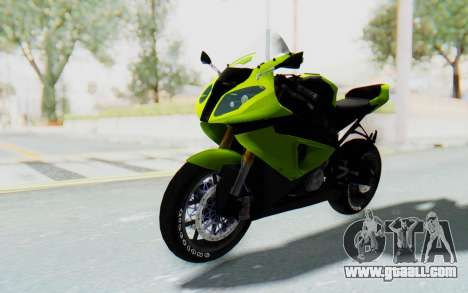 BMW S1000RR HP4 Modification for GTA San Andreas right view