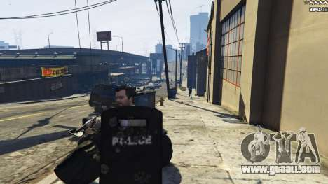 GTA 5 Shield Mod 0.2 fourth screenshot