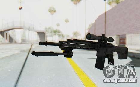 CoD: MW3 - Remington RSASS for GTA San Andreas second screenshot