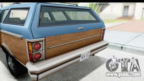 Pontiac Bonneville Safari from Bully for GTA San Andreas back view