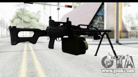 Kalashnikov PK (PKM) Iron Sights for GTA San Andreas third screenshot
