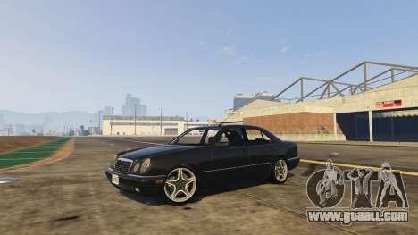 Mercedes-Benz W210 v1.0 for GTA 5
