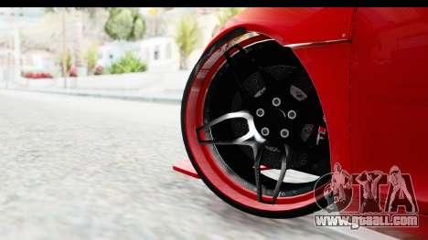 Audi R8 5.2 V10 Plus LB Walk for GTA San Andreas back left view