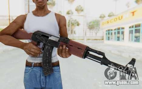 Assault AK-47 for GTA San Andreas third screenshot