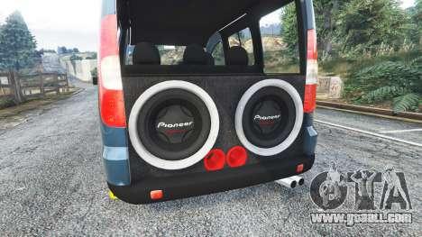 GTA 5 Fiat Doblo steering wheel