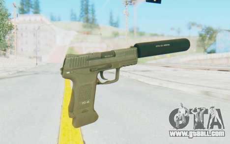 HK45 Silenced for GTA San Andreas third screenshot