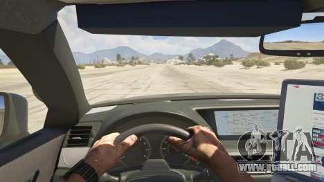 Lexus GS 350 Hot Pursuit Police for GTA 5