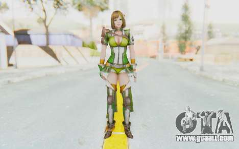 Dynasty Warriors 8 - Bao Sanniang for GTA San Andreas second screenshot