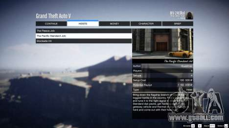 GTA 5 Heist Project 0.4.32.678 ninth screenshot