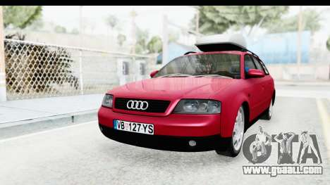 Audi A6 C5 Avant Sommerzeit for GTA San Andreas right view