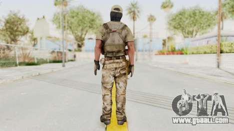 MOH Warfighter Grom Specops for GTA San Andreas third screenshot