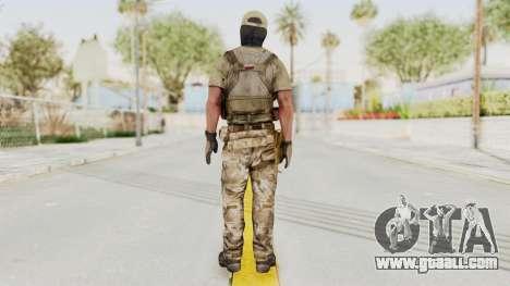 MOH Warfighter Grom Specops for GTA San Andreas third screenshot