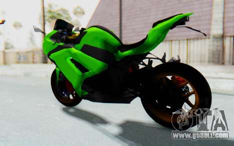 Kawasaki Ninja 250 Abs Streetrace for GTA San Andreas back left view
