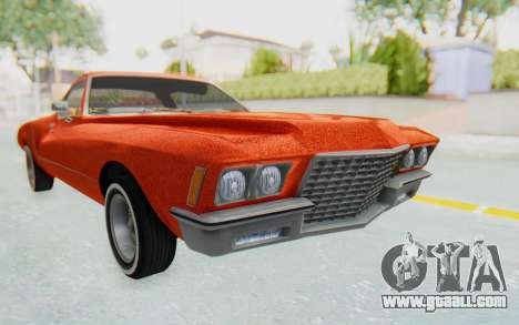 Buick Riviera 1972 Boattail Lowrider for GTA San Andreas right view