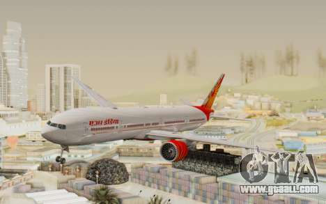 Boeing 777-300ER India Air for GTA San Andreas