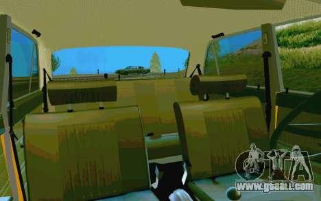 HUNTER-2106 GAI v2.0 for GTA San Andreas upper view