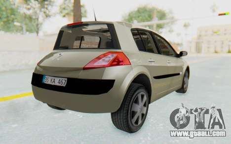 Renault Megane 2 for GTA San Andreas left view