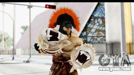 God of War 3 - Hercules v2 for GTA San Andreas