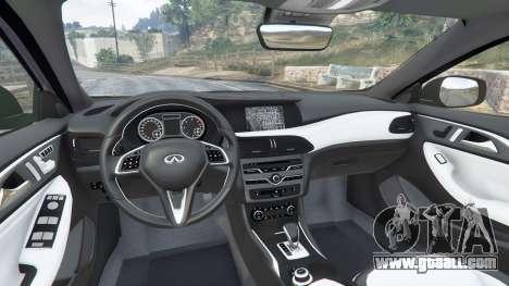 Infiniti Q30 2016 for GTA 5
