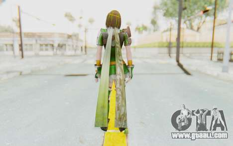 Dynasty Warriors 8 - Bao Sanniang for GTA San Andreas third screenshot