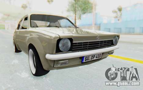 Opel Kadett C Coupe for GTA San Andreas right view