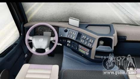Volvo FMX Euro 5 v2.0.1 for GTA San Andreas inner view